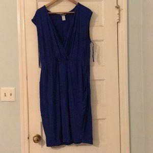 Lane Bryant curve hugging midi dress, size 2x